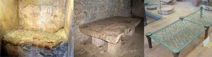Древние кровати