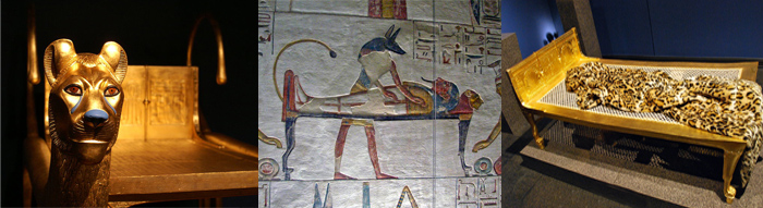 Кровати фараонов Древнего Египта