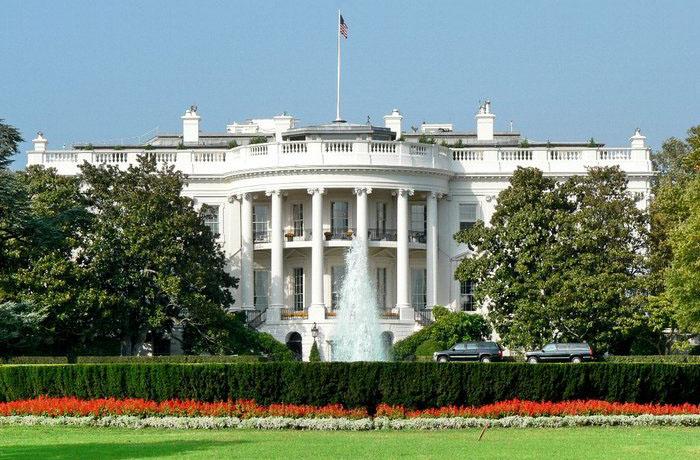 США Вашингтон Белый дом