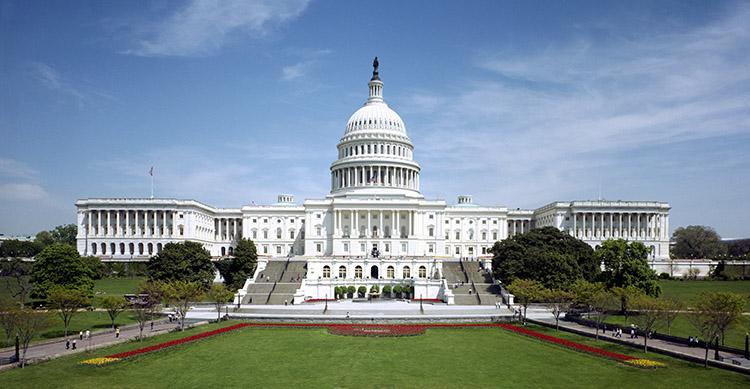 США Вашингтон Капитолий